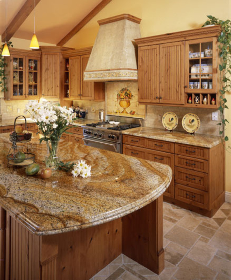Kitchen Countertop Pattern : Granite countertops kitchen genesis