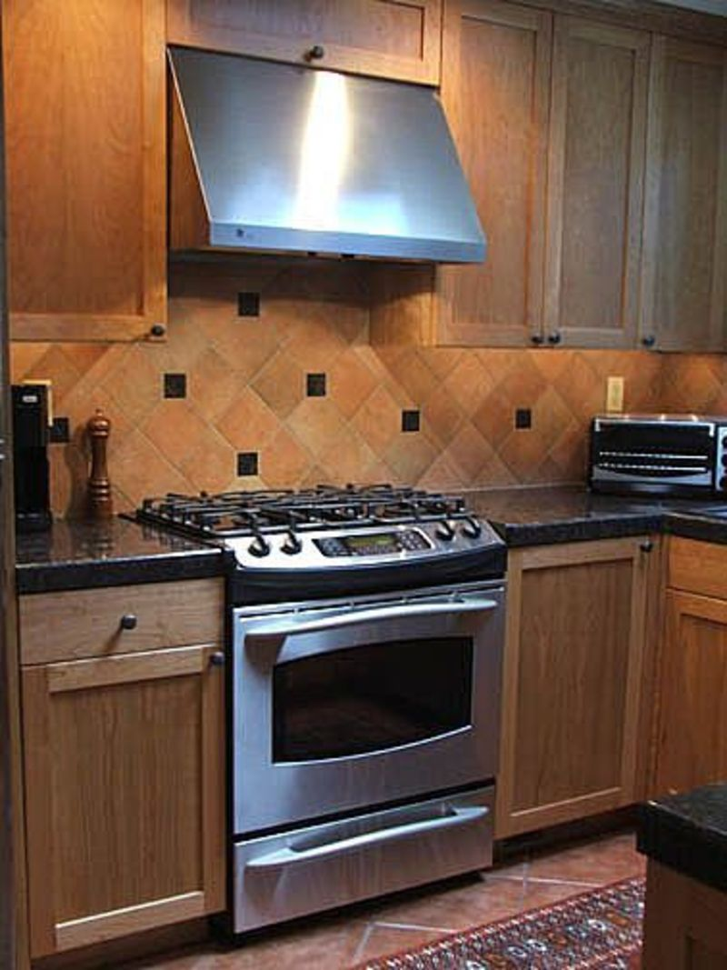 Tile backsplash ideas casual cottage Kitchen tile backsplash
