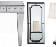 mirrored furniture roundup