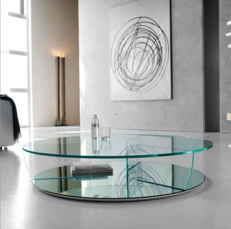 Modern Glass Coffee Table Design Bookmark 7431