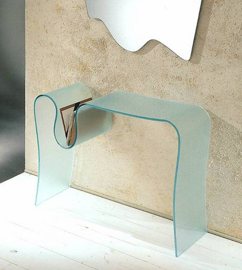 Goccia By Ultra Modern. Glass, Hall, Console Tables