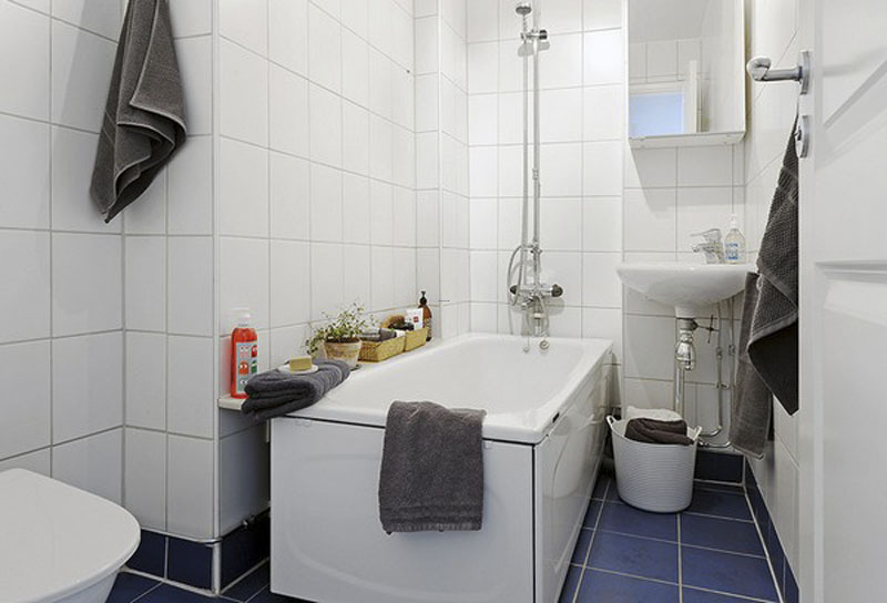 Scandinavian Duplex Apartment Bathroom Interior Design – Interior ...