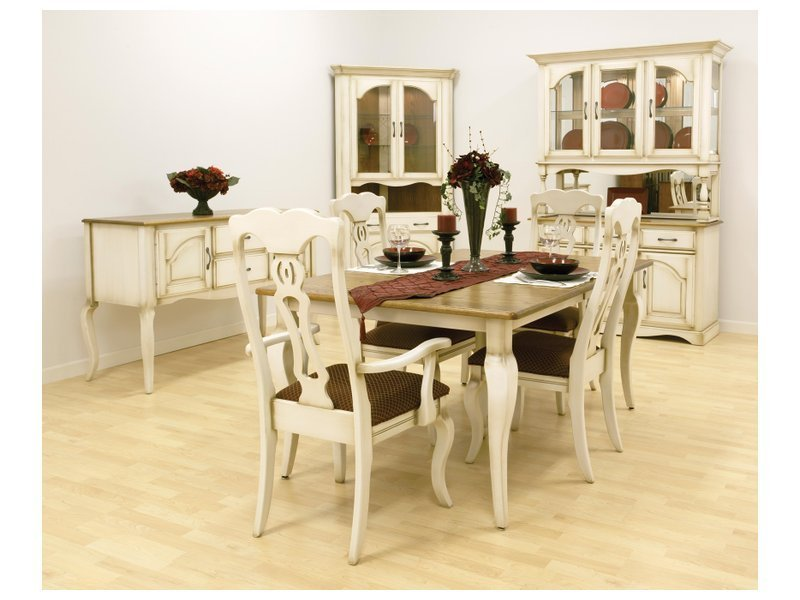 amish french country dining set design bookmark 7507. Black Bedroom Furniture Sets. Home Design Ideas