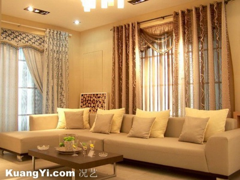Living Room Curtains   Design Bookmark  7599