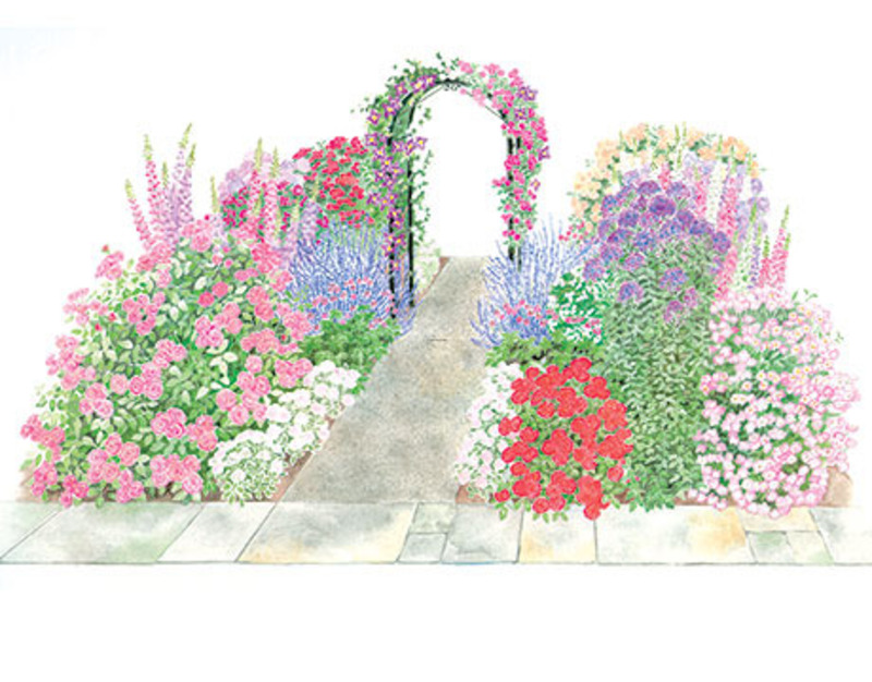 Garden Plans / design bookmark #