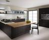 Modern Contemporary Kitchen Dramatically Dark and Streamlined Fenton Wenge