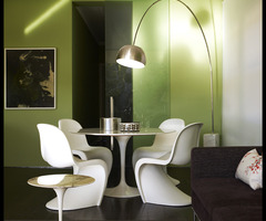 Home Design: Green Diningroom