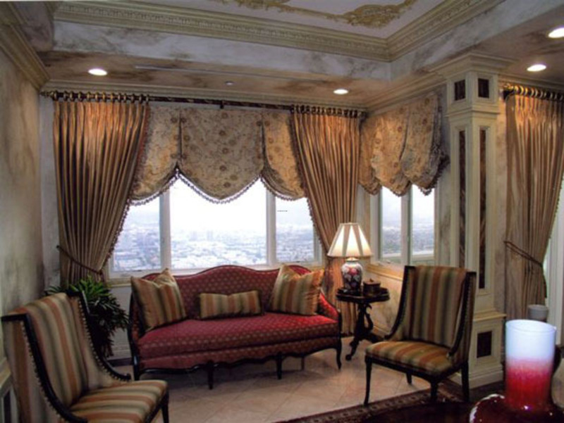 9 living room curtains decorating ideas design bookmark 7676. Black Bedroom Furniture Sets. Home Design Ideas