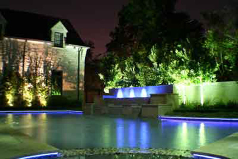 Best picture of exotic and beautiful landscape and pool for Garden lighting designs