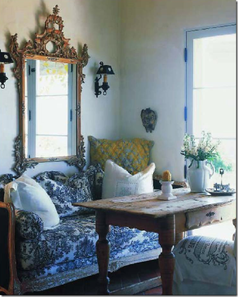 Decorating Ideas Toile Fabric: Decorating Ideas For Your Home Using French Toile De Jouy