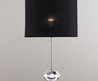 FS Chrome Glass Table Lamp