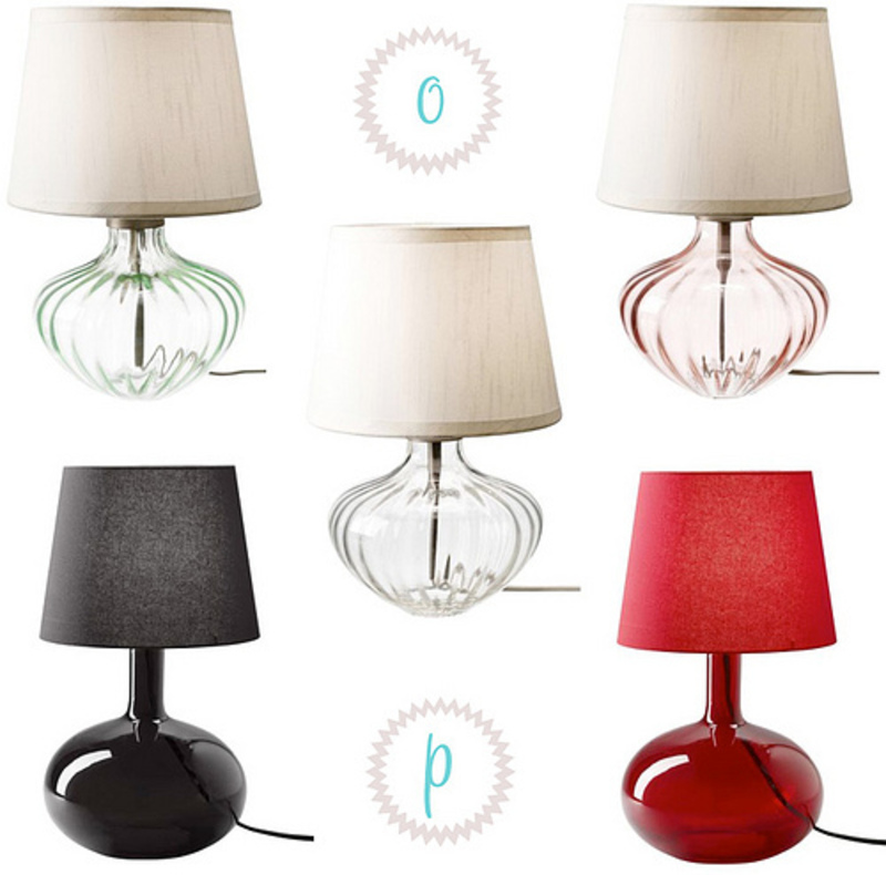Large Glass Table Lamps, decor8 » Blog Archive » Glass Table Lamp Round Up