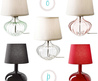 decor8 » Blog Archive » Glass Table Lamp Round Up
