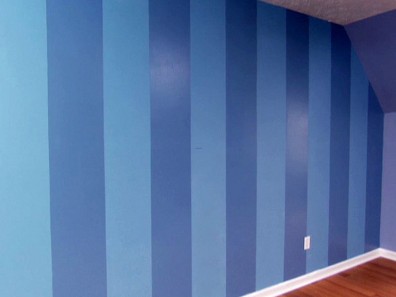 How to paint wall stripes how design bookmark 7798 for Painting stripes on walls