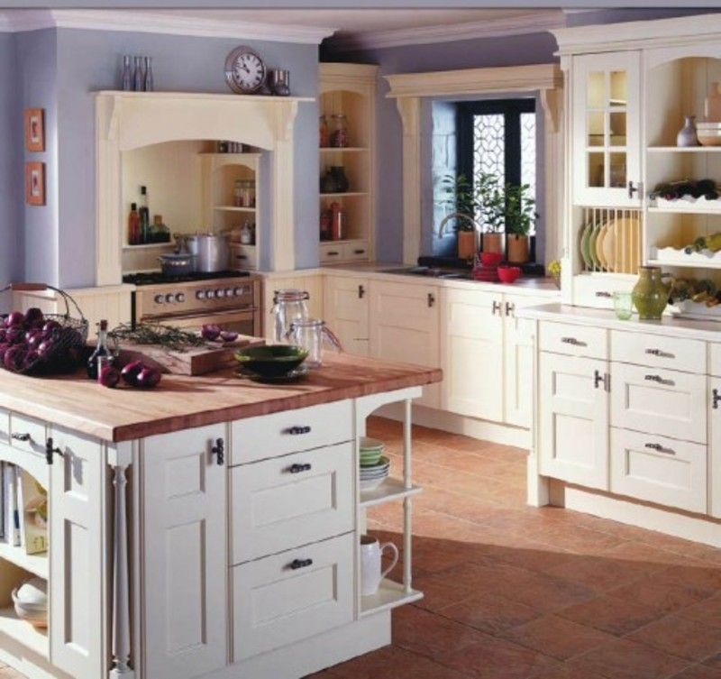 Country Kitchen Decorating Ideas: Britain Country Style Kitchen Design Ideas / Design