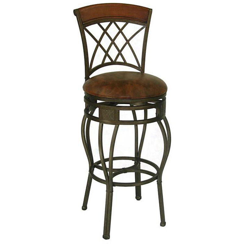 Ashley Blaire 39 Elmbridge 39 Adjustable Bar Stool Design Bookmark 7999