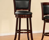 Verona Cherry Padded Back Swivel 29 Inches Pub Chair