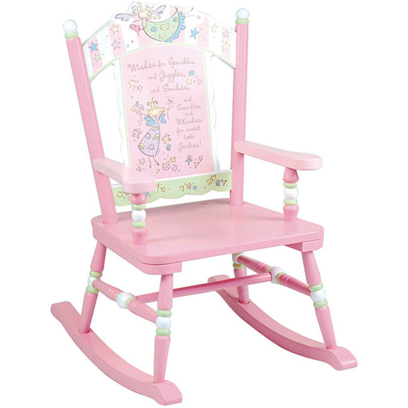 Fairy wishes rocking chair design bookmark 8056 for Child on chair