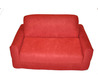 Fun Furnishings Red Micro Suede Sofa