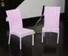 Children's All Weather Pink Wicker Chairs (Set Of 2)