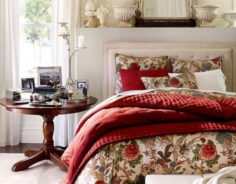 Christmas Bedroom Decoration Ideas By Pottery Barn / design bookmark ...