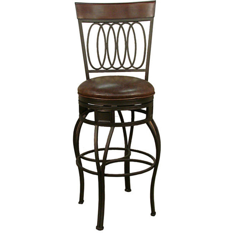 Derby 34 Inch Swivel Bar Stool Design Bookmark 8154