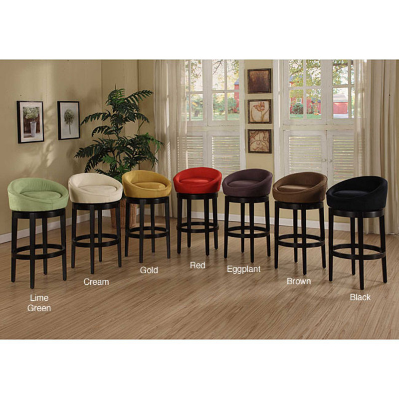 Igloo Swivel Microfiber Bar Stool Design Bookmark 8157
