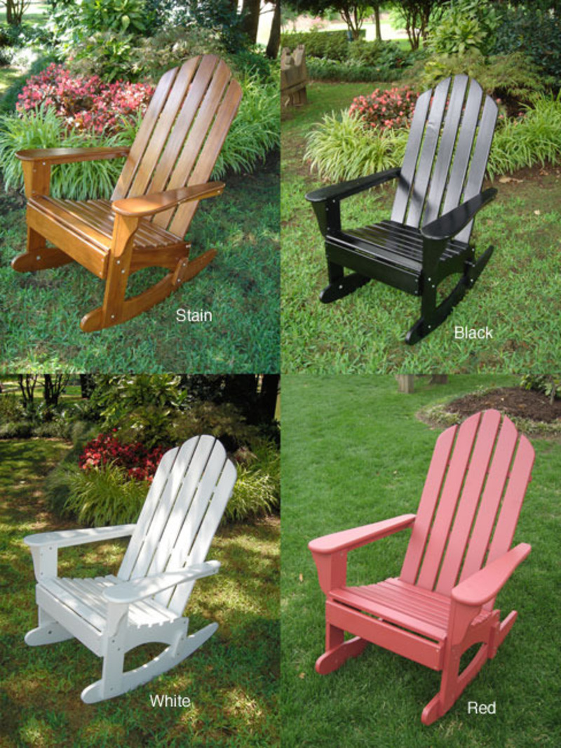 Adirondack rocker design bookmark 8159 for Adirondack chaise