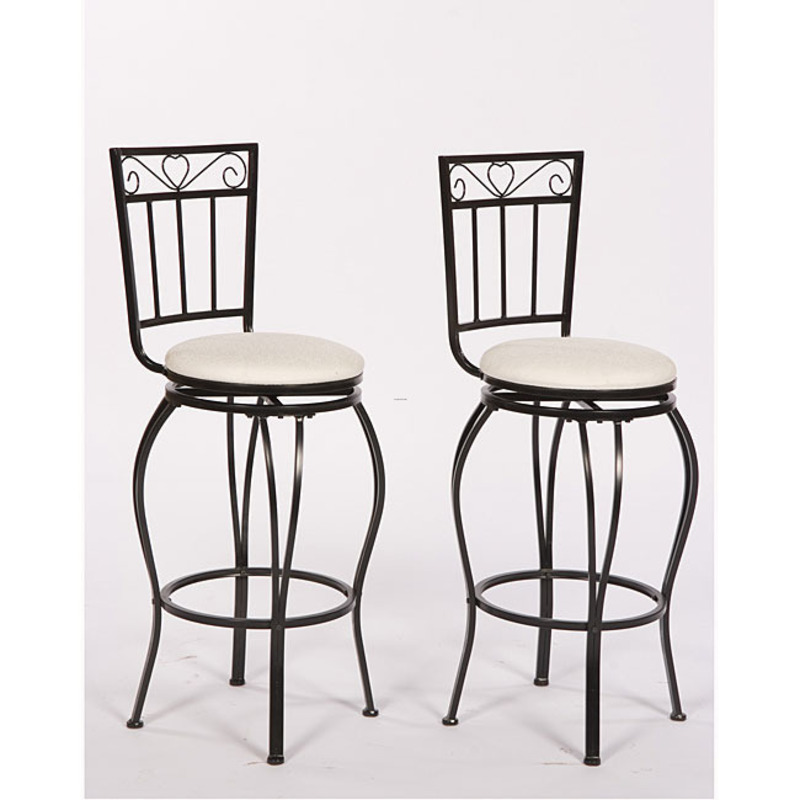 Gabriella 30 Inch Pub Stools Set Of 2 Design Bookmark 8170