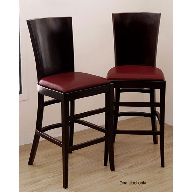 Casablanca Burnt Red Bar Stool Design Bookmark 8201