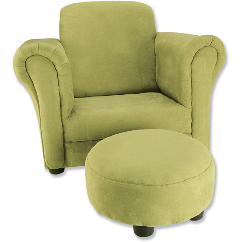 Trend Lab Avocado Toddler Chair And Ottoman design