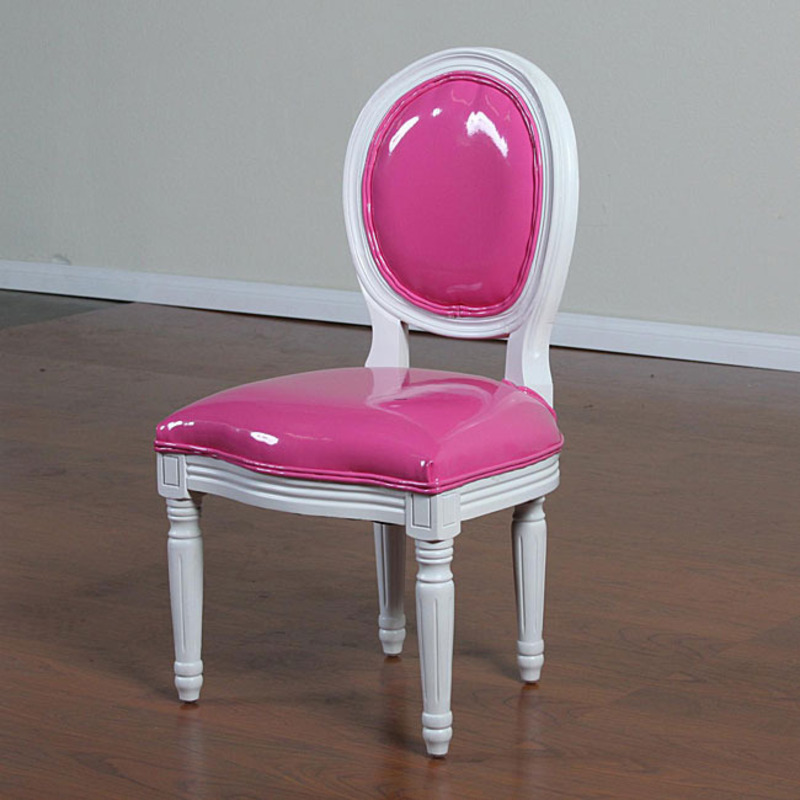 Childrens Hot Pink Banquet Chairs Set Of 2 Design
