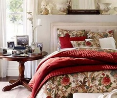 Pottery Barn : Lovely Christmas Bedding Ideas