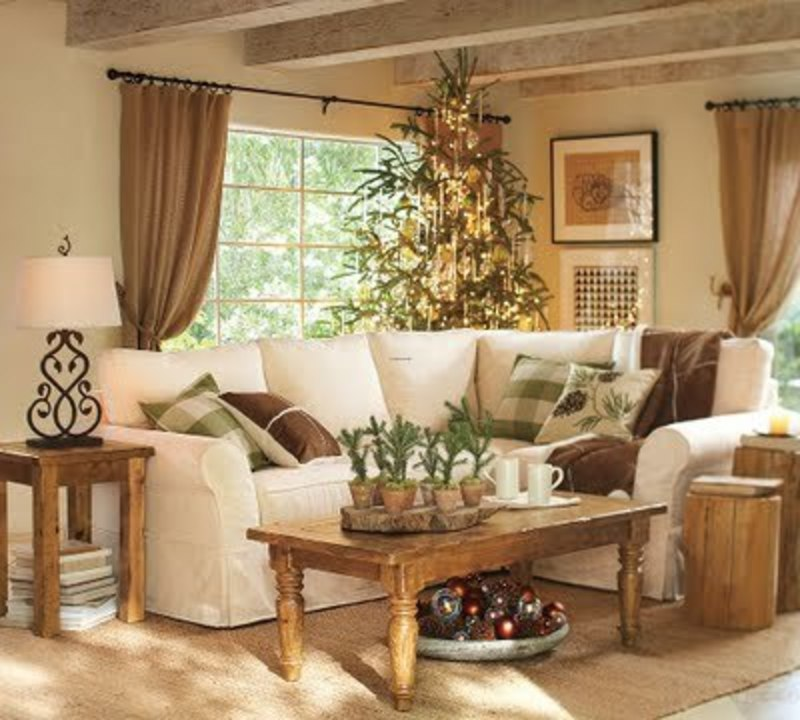 christmas pottery barn small place style pottery barn christmas 2009