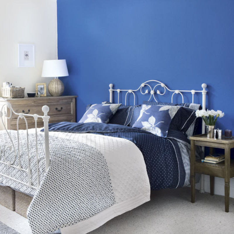 Amazing blue bedrooms design bookmark 8348 for Blue bedroom colors