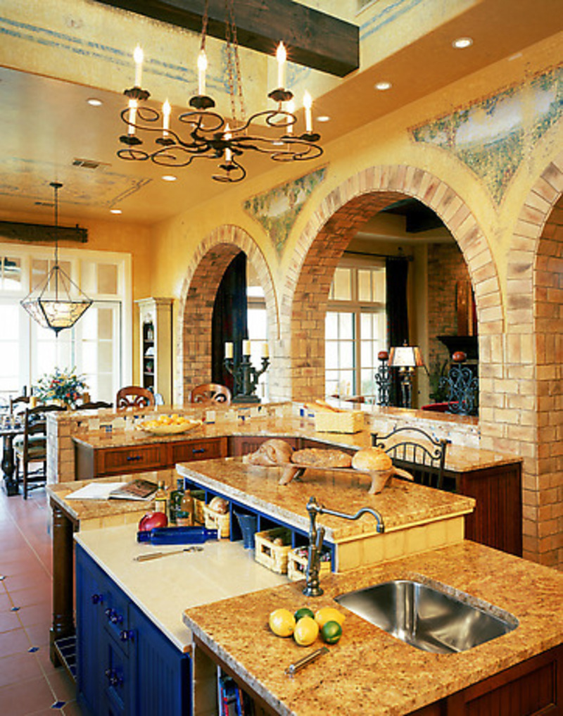 Kitchen remodel designs tuscan kitchens design bookmark for Tuscan kitchen designs photo gallery