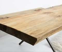 Furniture: Natural Table/Bench By Ohio Design : Remodelista