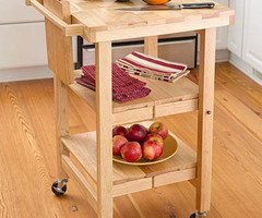 Space Saver: Folding Kitchen Island