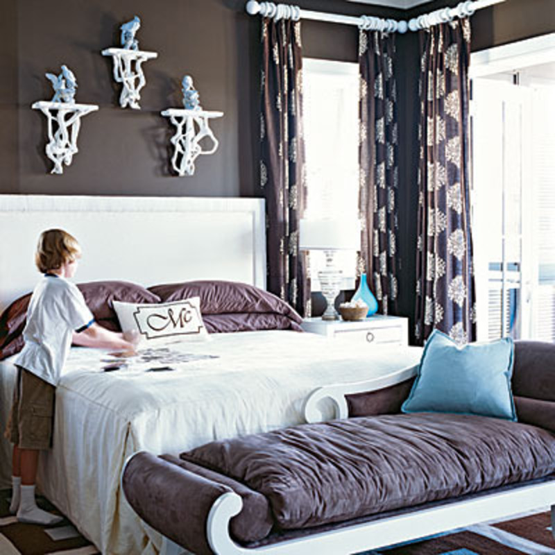 Master bedroom color schemes photos design bookmark 8450 for Bedroom color schemes