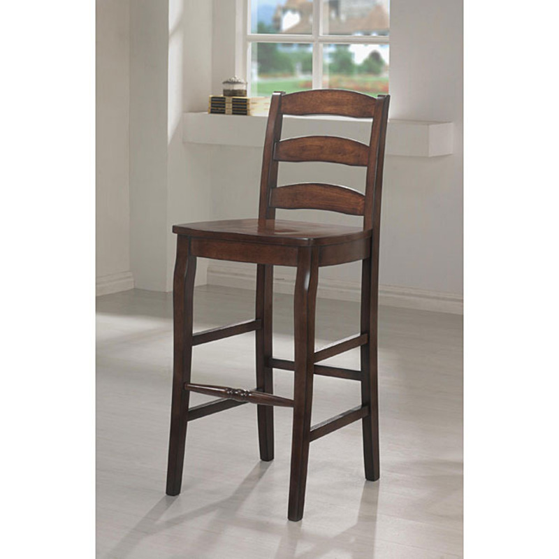 Ladderback 30 Inch Barstool Set Of 2 Design Bookmark 8452
