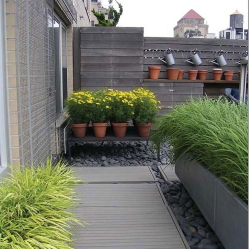 30 Unique Garden Design Ideas: Roof Garden Terrace Landscaping Design Ideas / Design