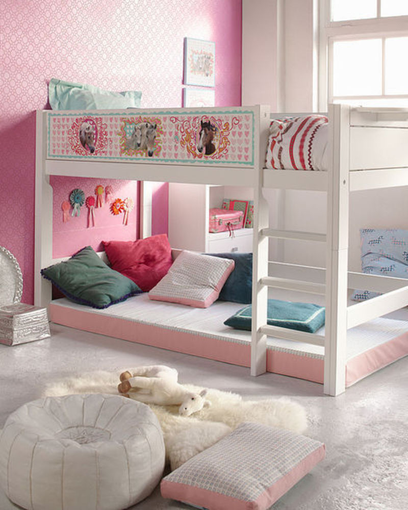 Girl Loft Bed Ideas 800 x 1000