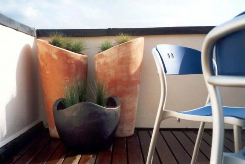 Modern And Contemporary Cool Roof Garden And Terrace Design Ideas