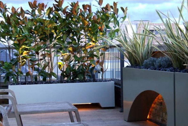 Rooftop Terrace Design Ideas, Modern And Contemporary Cool Roof Garden And Terrace Design Ideas The Roof Terrace Garden Exterior Design Ideas By Amir Schlezinger – Modern Contemporary Home Design Catalog