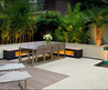 Samples Cool Surrounding Garden Terrace Design Ideas