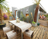 Roof Terrace At Nile Street Apartment /  Home Trends