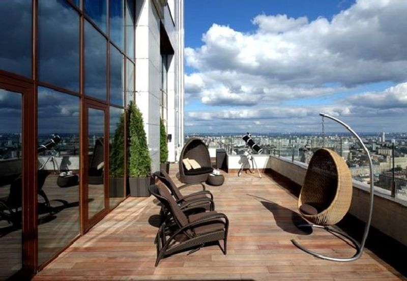 Rooftop Terrace Design Ideas, Roof Top Terrace With Amazing View On Penthouse Apartment In Moscow »  Home Interior Ideas, Home Decorating, Home Furniture, Home Architecture, Room Design Ideas