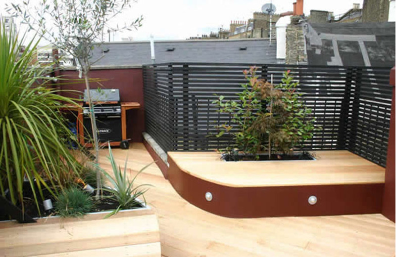 Terraces and garden decoration design bookmark 8600 for Terrace roof ideas