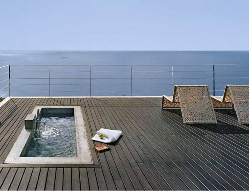 Modern rooftop terrace pool design ideas 5 design for Terrace with roof