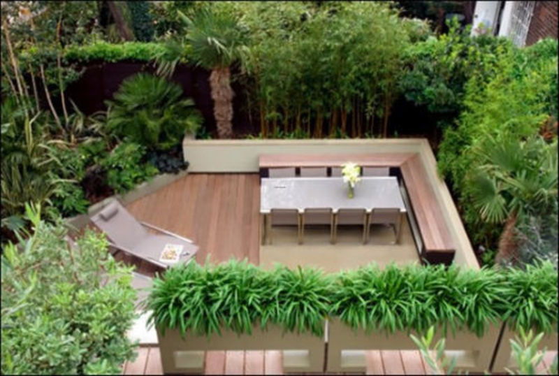 Rooftop Terrace Design Ideas, Cool Garden And Roof Terrace Design In Contemporary Style